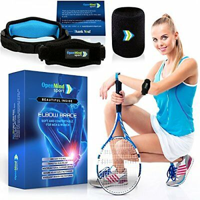 Tennis Golf Elbow Brace Strap With Compression Pad Essencell for Golfer's