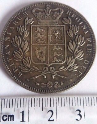 1844 GB Queen Victoria Young Head Crown Spink 3882 Re-strike