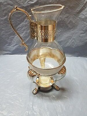 Silverplated Carafe, with burner (Reduced 30% from $40.00 to $28.00)