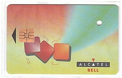 Belgium - Public Chip Phonecard - 1 Alcatel Verso A - Punched