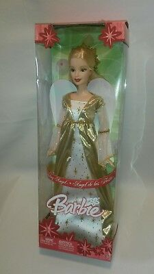 """☆ NEW 12""""  Barbie Doll Holiday Angel Mattel G5322 FREE SHIPPING"""