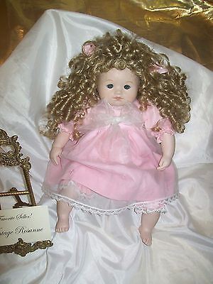 Dolls by Pauline Bjonness-Jacobsen Baby Shirley Limited Edition Hand Signed RARE