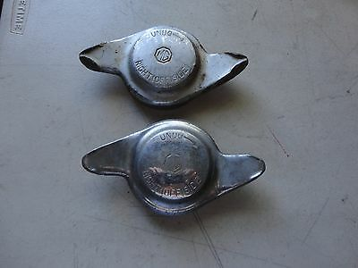 Pair MG  Wire Wheel Eared Knock Off Right Off Side