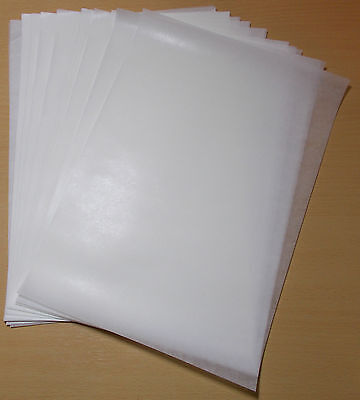 Waxed Paper Deli Sheets/candle, Soap Wrap Craft Paper 55Gsm A4 Size