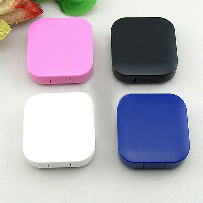 Travel Box Mini 4 Colors Mirror Holder Cute Contact Lens Case Kit