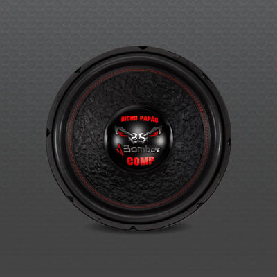 """Subwoofer 15"""" Bomber Comp 10Kw/5.000W Rms 2Ohm"""