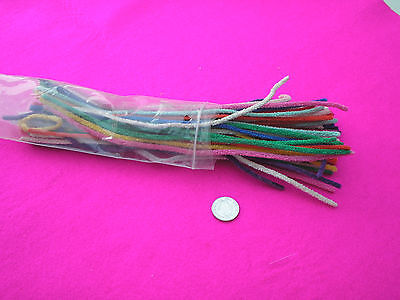 Craft Pipe Cleaners Size Long Mixed Colours Red/green/blue/orange/yellow/pink