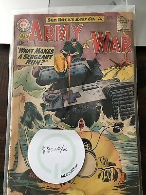 Our Army at War #97 (Aug 1960, DC)