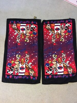 Lot Of 2 Space Jam 1996 - Towels - 42 X 23