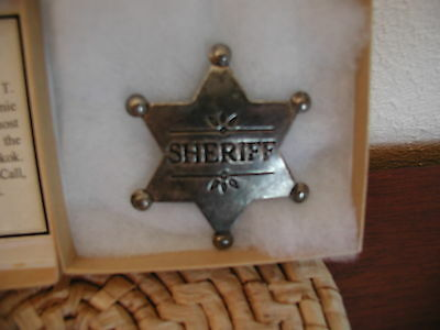 Badge  -Sheriff Badge