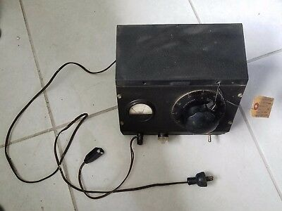 Vintage Superior Electric Powerstat Working