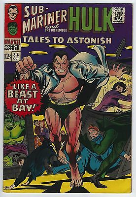Tales to Astonish #84 7.0 FN/VF Sub-Mariner Silver Age Marvel Comic Book Classic