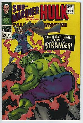 Tales to Astonish #89 7.5 VF- The Hulk Silver Age Marvel Comic Book Classic Book