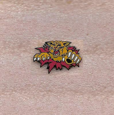 Moncton Wildcats Mjhlq Hockey Official Old Pin