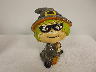2003 Target Brand Halloween Witch Girl Bobblehead Figurine