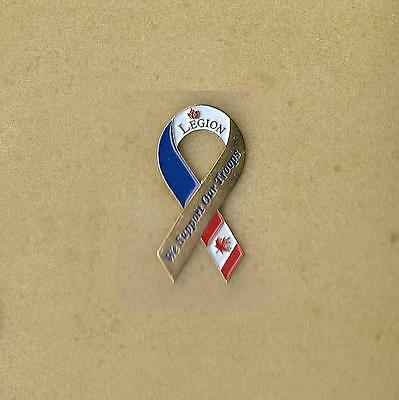Legion We Support Our Troops Original Ribbon Collectible Souvenir Pin
