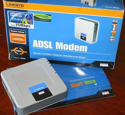 LINKSYS AM200 - MODEM ADSL 2+ by Cisco