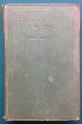 Horse Racing book Chasing And Racing by Harding Cox