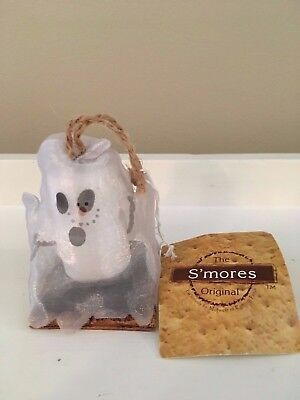 The Smores Original Halloween Midwest Of Cannon Falls  Ghost Ornament, Nwt