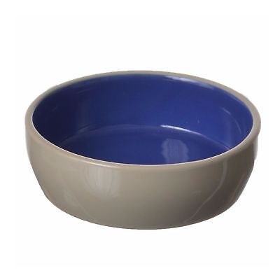 Ethical Pet Spot Stoneware Saucer 5 inch | Heavy Duty Cat or Reptile Bowl