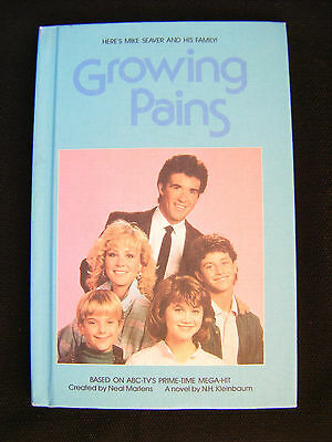 Growing Pains TV Series Kirk Cameron Alan Thicke Bantam Book - NEAR MINT