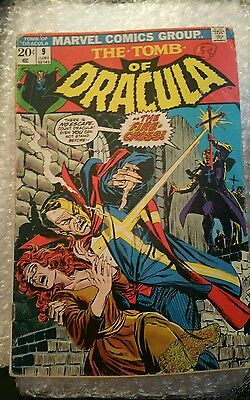 The Tomb Of Dracula # 9 1972 The Fire Cross Cgc It