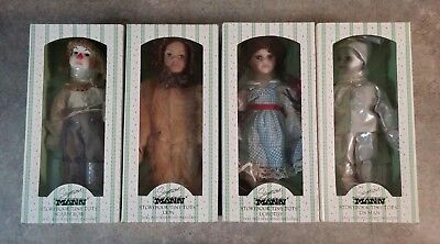 Seymour Mann Storybook Tiny Tots Wizard Of Oz Collection (Lot Of 4 Dolls)