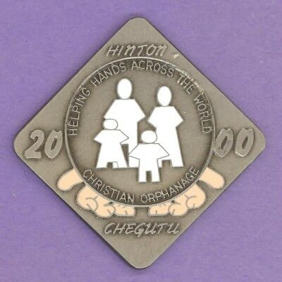2000 Hinton Alberta Trade Token Christian Orphanage Chegutu Hinton's Twin City