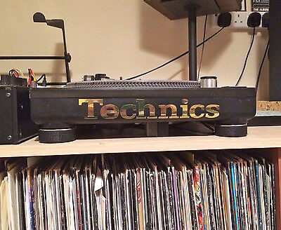 Technics Deck Decal Sticker x2