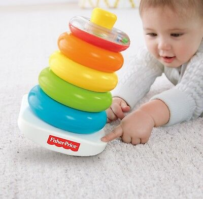 Fisher-Price Rock-a-Stack Toy Learning Toys Rockastack For Baby Basics Ring NEW