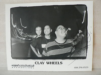 Clay Wheels Band  Autograph Signed Photo 8  X  10 By Ray Stevens Ii