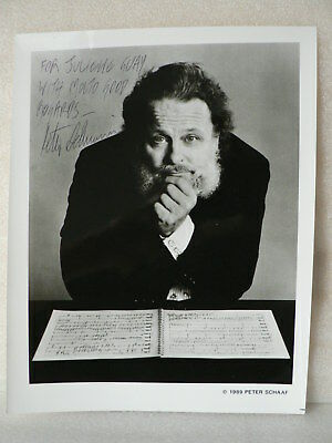 PETER SCHICKELE Composer Music Of P.D.Q. BACH AUTOGRAPH SIGNED PHOTO