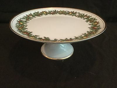 Fitz & Floyd St Nicholas Compote Cake Stand