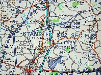 Southern England 1:250,000 VFR Chart *Latest Edition 21*