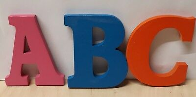 personalised wooden/wall/letters/word/door/art/craft/sign  Various Sizes