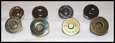 Magnetic Bag Clasp Fasteners 18Mm Gun Metal / Gold / Nickel / Antique Brass