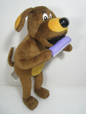 "2013 Wicked Cool Toys The Wiggles 10"" WAGS THE DOG w/HARMONICA Plush Stuffed Toy"