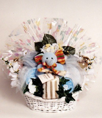Mommys Spa and Baby Gift Basket | Great Baby Shower Gift Basket