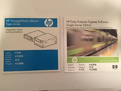 HP StorageWorks Ultrium Tape Drive / Data Protector Express Software