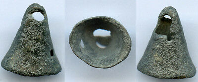 Scarce authentic ancient bronze Celtic Bell Money (7th-5th c. BC), Europe
