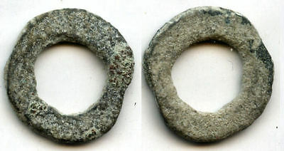 Scarce local issue cash coins w/out inscriptions, Semirechye, ca.600-800 AD