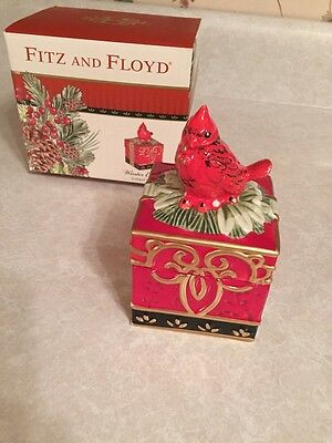 FITZ and FLOYD Winter Claus Lidded Box