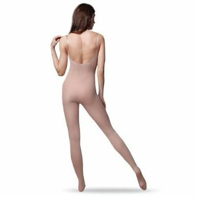 New Capezio 1818 Transition Dance Body Tight LSN Adult sizes