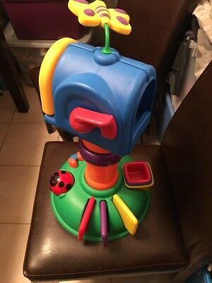 Little Tikes Busy Bee Buzz Around Mailbox Toy Toddler Baby W/ Mail Cups Works