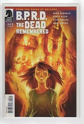 B.P.R.D. the Dead Remembered 2 of 3 (Dark Horse Comics Present) NM+ 9.6