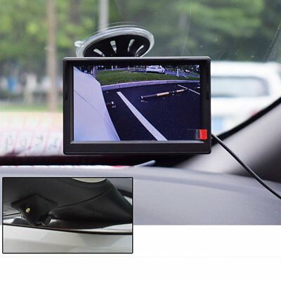 Waterproof 170° HD Car Front Side Rear View Blind Spot Camera 2 LED Night Vision