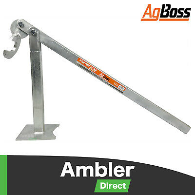 AgBoss Galvanised Star Steel Picket Post Lifter Remover Electric Fence Pole
