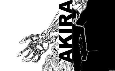 "002 Akira - Red Fighting Hot Japan Anime 22""x14"" Poster"
