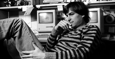 """030 Steve Jobs - RIP Think Different Great Inventor 27""""x14"""" Poster"""