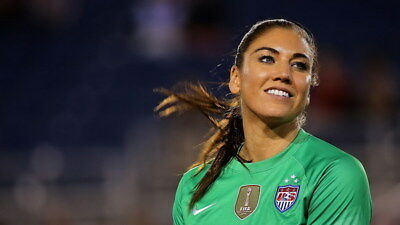 """041 Hope Solo - Team USA Keeper Football Soccer Wowen Olympic 24""""x14"""" Poster"""